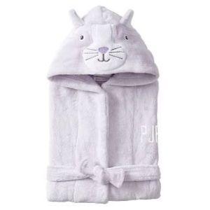 Pottery barn kids  cat bathrobe